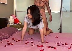 Hot asiatico coppia.