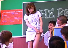 Rin Sakuragi in No Panty Teacher