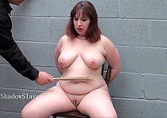Obesa slavesluts electro dominazione e sottomissione e brutto piangente donna bella e grassa a Tetta torturato punito