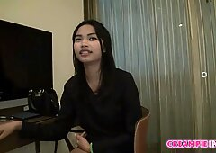 Carina 18yo Thai Adolescente Sborrata