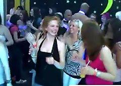 Hot dancing party