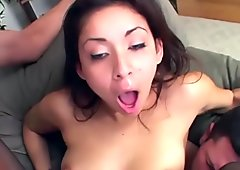 BrutalClips - Chanel Chavez Double Penetrated and Facialized