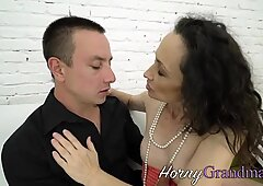 Pussy toyed grandmother