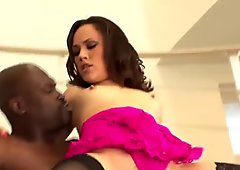 West Coast Productions Skinny white slut gets BBC anal