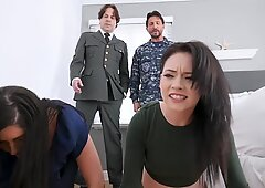 Athena is seduced by Miranda s daddy into getting her cunt drilled