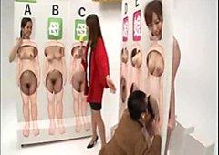 Sesso giapponese quiz con hot pupe per averne un po '