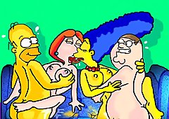 Marge Simpson orge nascoste