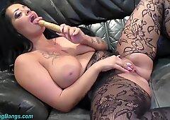 Orgia selvaggia con TETTONA MILF Ashley Sperma Star