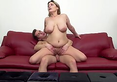Mature super moms having sex with sons