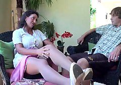 Stepmom stepson affair 86 (mamma educazione sessuale)
