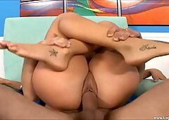 Arianna Jay Rides A Big Fat Dick