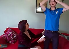 Tardona a Carne Christina e Sam Bourne insieme
