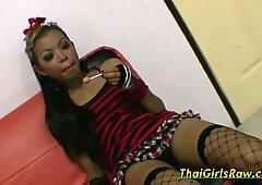 Sexy Thai babe enjoys creampie sex