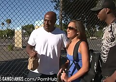 Kiera King -Air taut big black cock group sex
