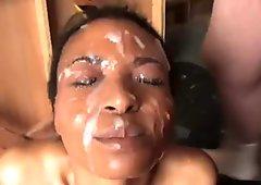 Rubbing During Bukkake Bath
