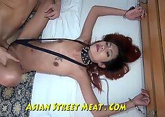 Powerful Sperm Filled Asian Rectum