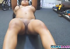 Pornstar do the work out naked and nude makes the dick hard
