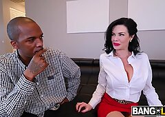 Veronica Avluv Her DP With Monster Cock