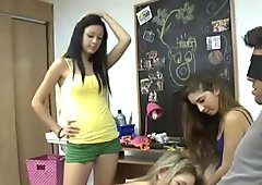 Real amateur girls giving blowjobs