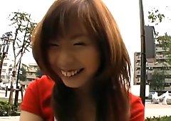 Misa Kurita Pretty Asian doll enjoys part2
