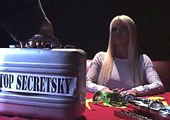 Nick & Nikita on the set