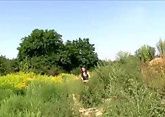 Publicagent arrapato hitchhiking pupe fuck for soldi part 1