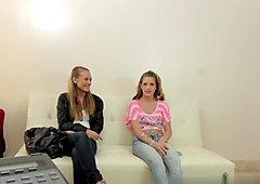 Casting Couch-X Video: Rebecca And Natasha