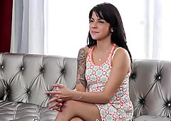 CastingCouch-X - Sadie Pop fucks agent in first porn