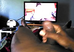 (PART 2) PORN GOT KINGCUM JACKING MY BIG BLACK THICK DICK.. PART 2 (5/4/17)