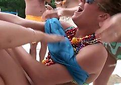 wild lake party girls