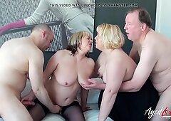 Agedlove Hot Tardona Trisha e Lexie Cummings Groupsex
