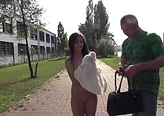 MAGMA FILM Natural German Teen in Public