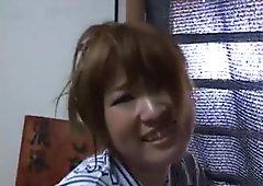 Free jav of Lovely Asian girl enjoys part4